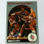 1990-91 NBA Hoops #246 Kevin Duckworth Portland Trail Blazers Basketball Card